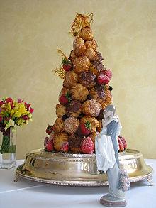Wedding Cake Choux