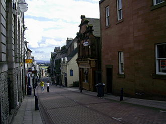 History of Dunfermline - Crosswynd, which was once one of the six gates in Dunfermline