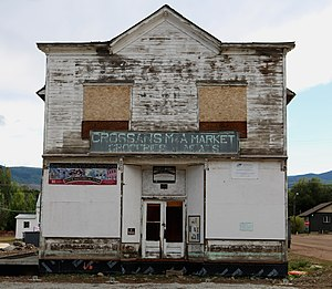 National Register of Historic Places listings in Routt County, Colorado - Image: Crossan's M and A Market