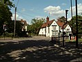 Crossroads at the centre of Rayne village - geograph.org.uk - 1282621.jpg