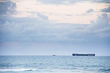 Crowley Maritime ship seen from Puerto Rico shores.jpg