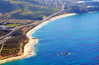 Crystal Cove State Park - The beach in Crystal Cove State Park