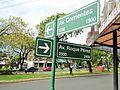 Cuatro Avenidas de Posadas - Intersección de Avenida Corrientes y Avenida Roque Pérez.JPG