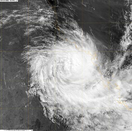 thesis of cyclone A cyclone can be so huge that it can cover over half of the united states it can happen in the time of a few seconds to possibly 1 to 10minutes a special extreme kind of cyclone that is only 300 yards (274 meters) across is a tornado.
