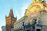 Czech-03725 - Municipal House & Powder Tower (33018787175).jpg