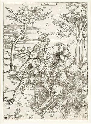 Mikkel Museum - Image: Dürer Herakles alistab molioniidid