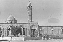 Die Gro?e Moschee von Beerscheba im Jahr 1948