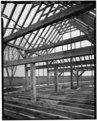 DETAIL OF INTERIOR LOOKING SOUTHEAST - John Dickinson Mansion, Feed Barn, Kitts Hummock Road, Dover, Kent County, DE HABS DEL.1-DOV.V,1-A-12.tif