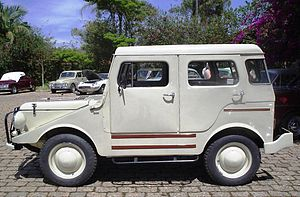 DKW Munga - A 1960 Candango, with hard top made by Carraço