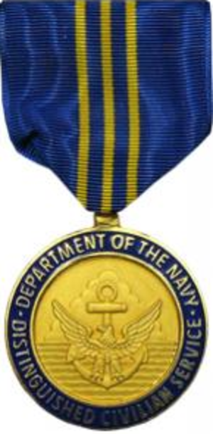 Navy Distinguished Civilian Service Award - Image: DON Distinguished Civilian Service
