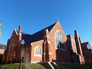 Dahlgren Chapel of the Sacred Heart - Image: Dahlgren Chapel of the Sacred Heart DC 01