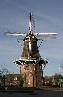 Dalen Village in Drenthe, Netherlands