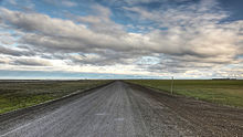 Dalton Highway facing south from Deadhorse.jpg