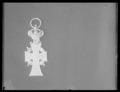 Dannebrogsmands tecken, frånsida - Livrustkammaren - 53789.tif