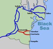 دریای سیاه و رودخانه ی دانوب