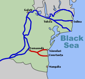 kart over donau Donau Svartehavskanalen – Wikipedia kart over donau