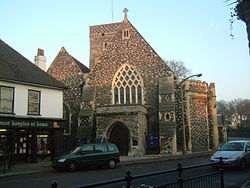 Holy Trinity Church i Dartford High Street