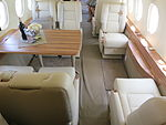 Dassault Falcon 2000 LX cabin seats and table.JPG