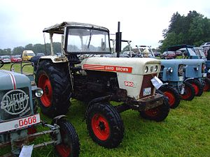 David Brown Ltd. - David Brown 990 GAF 54PS tractor made around 1969