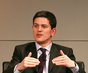 David Miliband, British politician