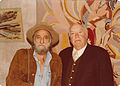 DeGrazia and Director, Lee Garmes circa. 1970's.jpg