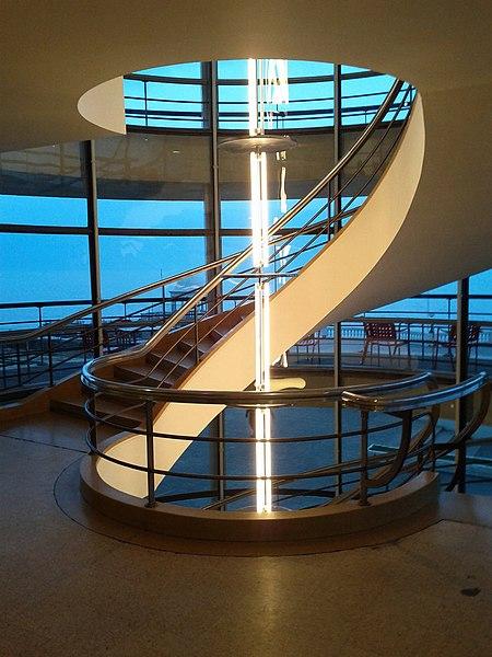 File:De La Warr Pavilion stairs-5519790341.jpg