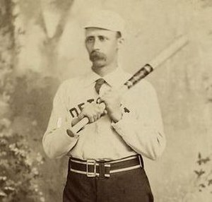 1887 Detroit Wolverines season - Deacon White