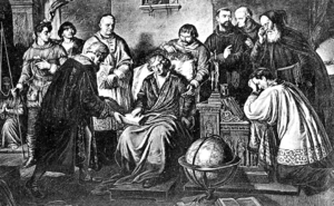 Aleksander Lesser - Copernicus's Last Moments