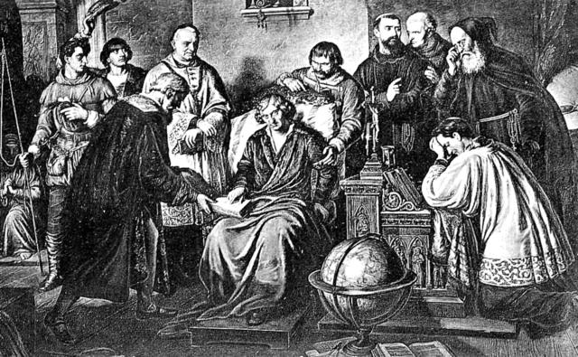 А. Лессер. Смерть Коперника