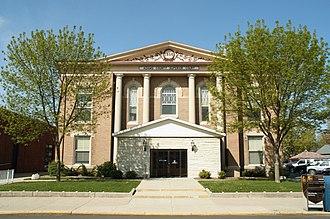 Adams County, Indiana - Adams County superior court, Decatur, Indiana, 2006.