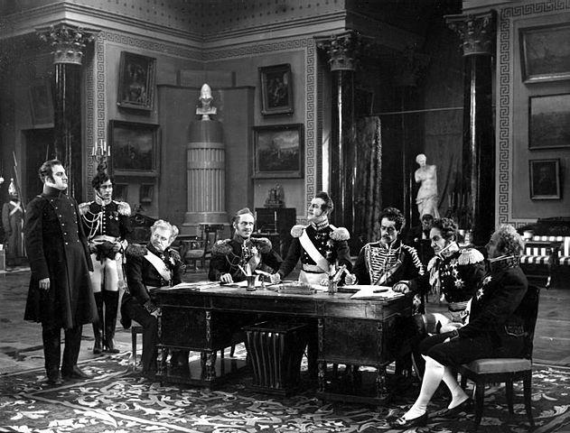 Кадр из фильма «Декабристы» 1926 года