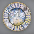 Deep Plate with Portrait of a Woman and the Initials 'N I' LACMA 50.9.23.jpg