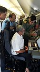 Defence Minister Manohar Parrikar reviews search operations for missing Air Force aircraft AN-32 (2).jpg