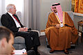 Defense.gov News Photo 110312-D-XH843-002 - Secretary of Defense Robert M. Gates meets with the Crown Prince of Bahrain Salman bin Hamad al-Khalifa at Riffa Palace in Bahrain on March 12.jpg