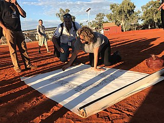 <i>Uluru Statement from the Heart</i> 2017 statement by Indigenous Australians seeking constitutional recognition and reform