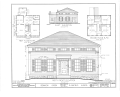 Dennison Green House, Main Street, Plainfield, Will County, IL HABS ILL,99-PLAFI,1- (sheet 1 of 2).png