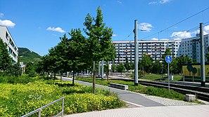 Der Jenaer Stadtteil Lobeda-West
