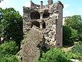 Der Krautturm (Pulverturm, Gesprengter Turm) des Schlosses - geo.hlipp.de - 19414.jpg