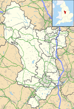 Aston-on-Trent is located in Derbyshire