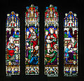 Derry St Columb's Cathedral South Aisle Dean Hugh Usher Tighe Memorial Window 2013 09 17.jpg