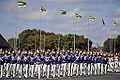 Desfile alusivo ao Dia do Soldado, no Quartel-General do Exército, em Brasília (7871966810).jpg