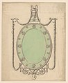 Design for an Oval Mirror, Surmounted by an Urn and Draped with Neoclassic Swags MET DP244877.jpg