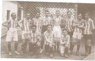 FK Lokomotíva Devínska Nová Ves - Team squad from the 1923 season.