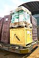 DfID plane carrying Oxfam supplies arrives in Juba 24 jan 2014 (12118340336).jpg