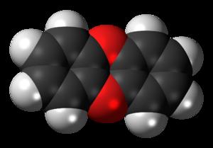 Dibenzo-1,4-dioxin - Image: Dibenzo 1,4 dioxin 3D spacefill