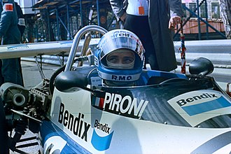 Didier Pironi - Pironi as a Formula Two driver in 1977 at Monaco