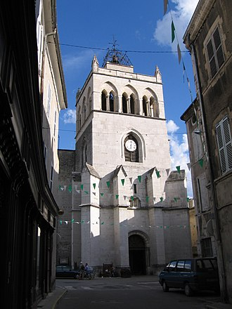 Die, Drôme - Church of the town