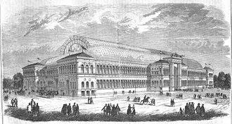1855 in architecture - Palais de l'Industrie