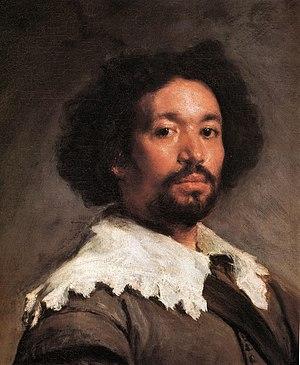Afro-Spaniard - Image: Diego Velázquez Juan de Pareja (Metropolitan Museum of Art de Nueva York, 1649 50), detalle