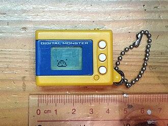Digital Monster (virtual pet) - A Digital Monster model (mini Version 2).